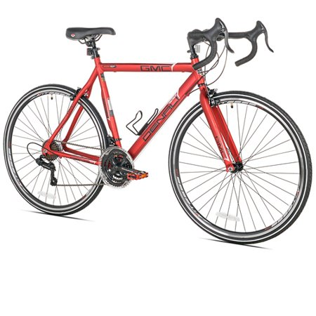 "GMC 22"" 700c Adult, Denali Road Bike, Red"