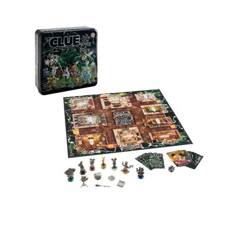 Disney Parks Disney Theme Park Edition Clue Game New](Game Night Theme Ideas)