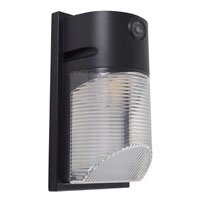 PowerZone Led Security Light, 50000 Hr, 80 Cri, 4000 K, Ip54 Enclosure,  Bronze, 18 W Led Lamp, 1500 Lumens