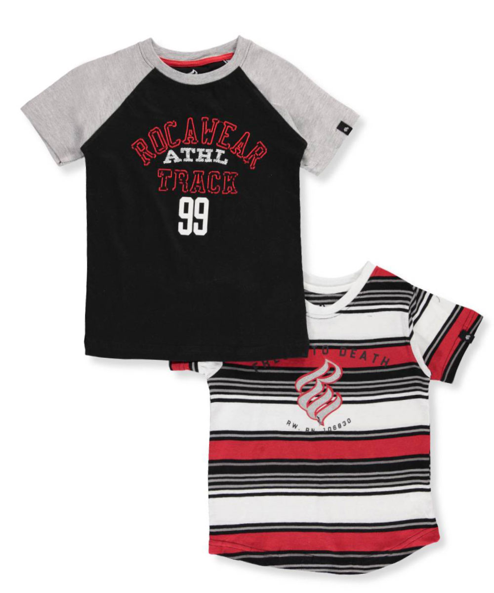Big Boys' 2-Pack T-Shirts (Sizes 8 - 20)