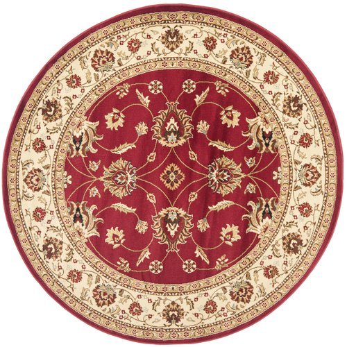 Charlton Home Ottis Red/Ivory Persian Area Rug