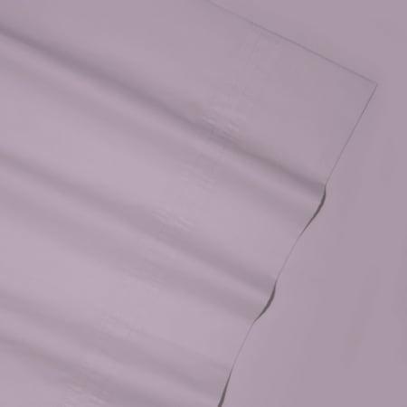 Tribeca Living 350 TC Egyptian Cotton Percale Deep Pocket Sheet (Egyptian Cotton Percale Flat Sheet)
