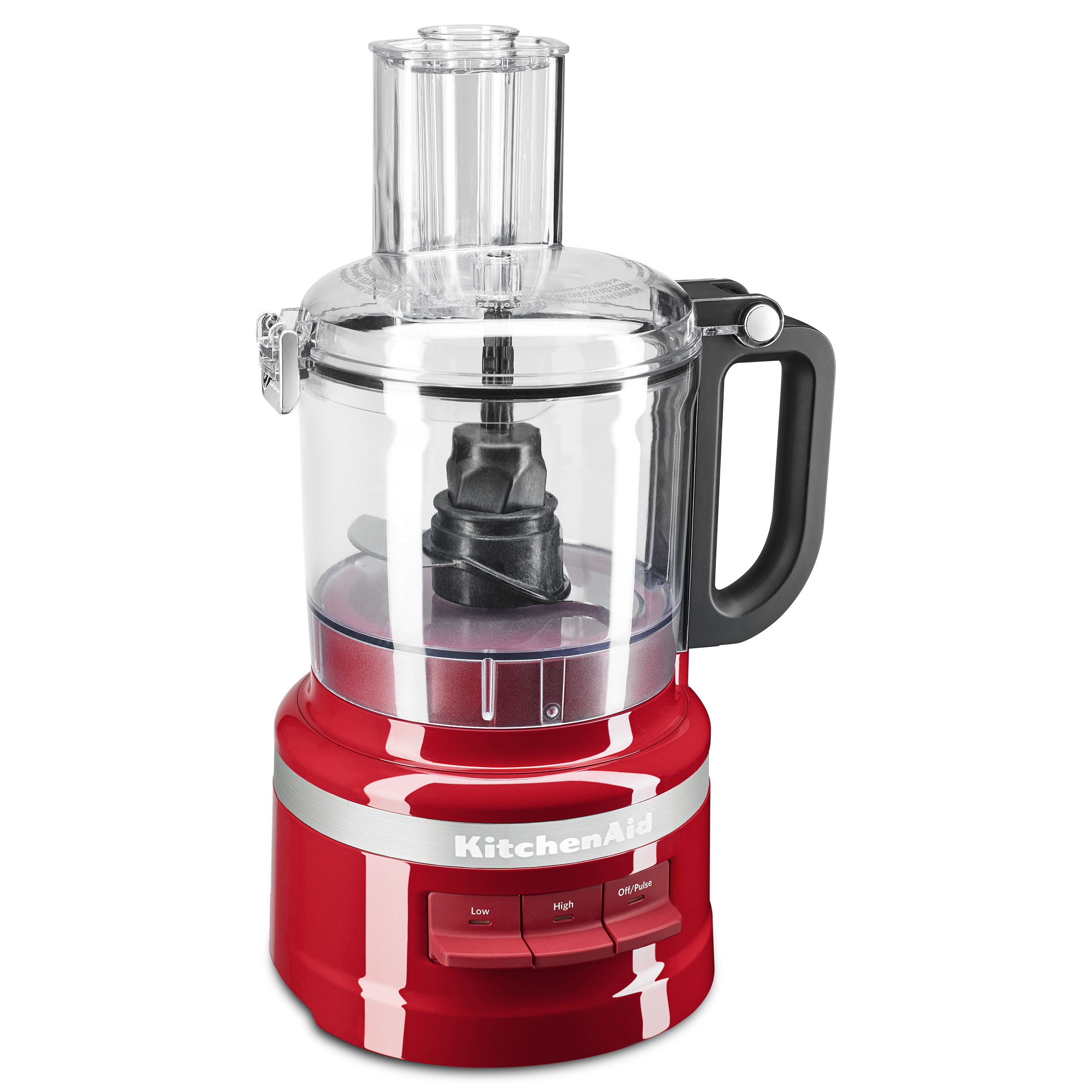 KitchenAid 7-Cup Food Processor, Empire Red (KFP0718ER) - Walmart.com - Walmart.com
