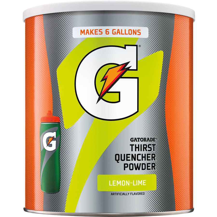 Gatorade Thirst Quencher Lemon-Lime Sports Drink Mix, 51 Oz