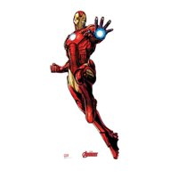 Advanced Graphics 2366 74 x 35 in. Iron Man - Avengers Animated Cardboard Standup