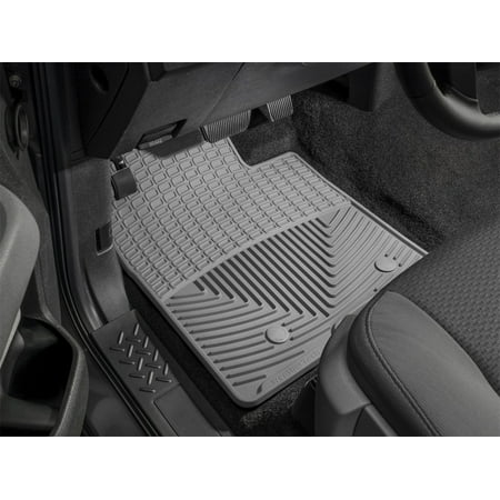 WeatherTech 11+ Ford Explorer Front Rubber Mats - Grey