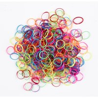 Scunci Assorted Color Polybands, 500 count
