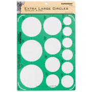 Pickett Extra-Large Circles Inking Template