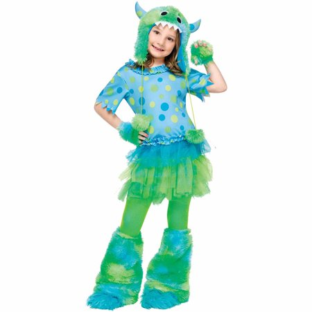 Monster Miss Child Halloween Costume