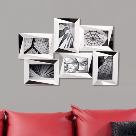 mira mirrored 15x225 wall collage frame walmartcom
