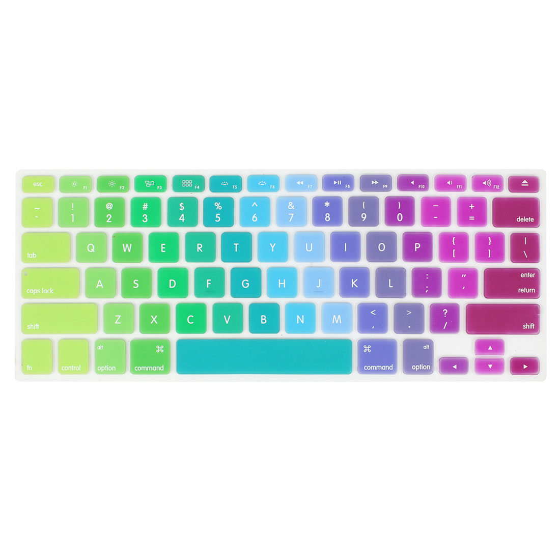 Unique Bargains Apple MacBook Air 13.3 Inch Colourful Protection Keyboard Film