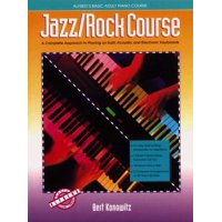 Alfred's Basic Piano Library: Alfred's Basic Adult Jazz/Rock Course: A Complete Approach to Playing on Both Acoustic and Electronic Keyboards (Paperback)