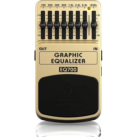 EQ700 Ultimate 7-Band Graphic Equalizer, Shape your sound and eliminate feedback with 7 bands of equalization By