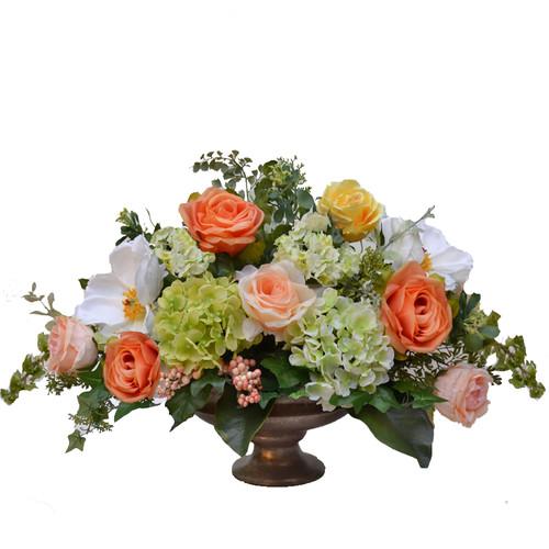 Floral Home Decor Summers Beauty Silk Centerpiece