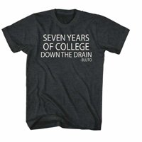 Animal House Movies Drain It Adult Short Sleeve T Shirt