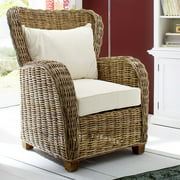 Infinita Corporation Wickerworks Patio Chair with Cushions