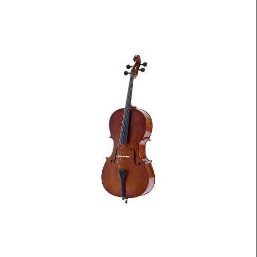 Palatino Allegro Solidwood Ebony Cello W Gigbag Bow 1 4 VC-450-1 4 by Palatino
