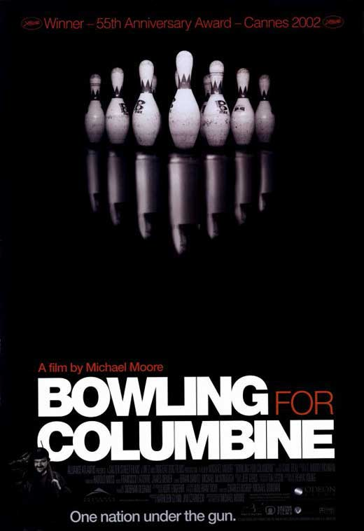 Click here to buy Bowling for Columbine POSTER Movie Mini Promo by Burst Posters.