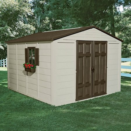 Suncast 10' x 10' Outdoor Storage Building / Shed