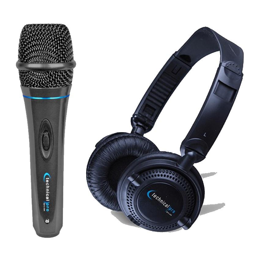 TECHNICAL PRO MK75 Microphone & HP23 Headphone Bundle