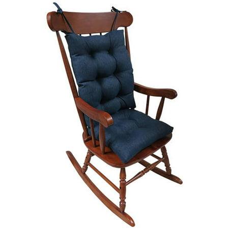 Gripper Jumbo Rocking Chair Cushions Omega Walmart Com