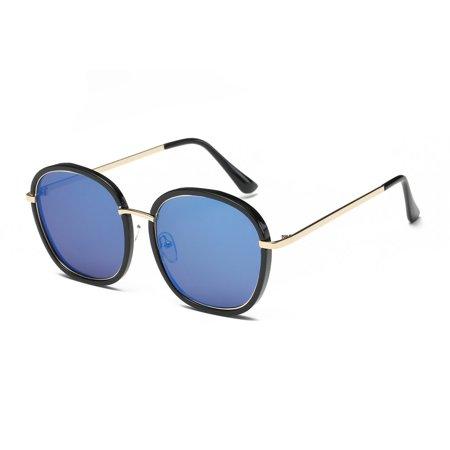 2186 Fashion Woman Man Sunglasses Stylish Oversize Glasses Hardening Eyewear - image 7 of 8