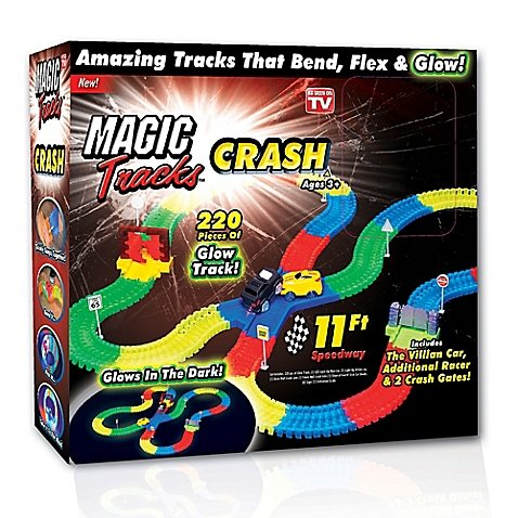 As Seen on TV Magic Tracks Crash Kit