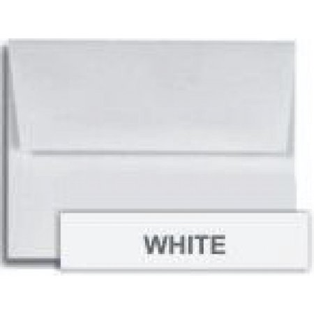 Cougar White A2 (4-3/8-x-5-3/4) Envelopes 250-pk - PaperPapers 4X5 holds paper folded 4-ways Invitation, Response and DIY Greeting Envelopes