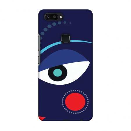 Vivo X20 Case, Premium Handcrafted Printed Designer Hard Snap on Shell Case Back Cover with Screen Cleaning Kit for Vivo X20 - Divine Goddess - Blue (Goddess Blue)