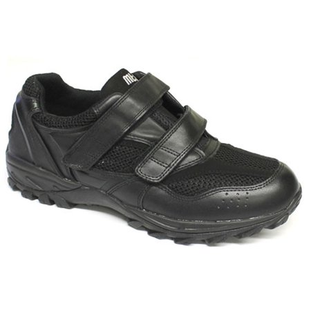 Apis Mt. Emey 9702-1V Men's Explorer Athletic Shoe: 7 X-Wide (4E) Black - Width 4e Cushion Running Shoe