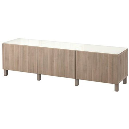 Ikea Storage Combination With Drawers  Lappviken Walnut Effect Light Gray 6204 2115 2218