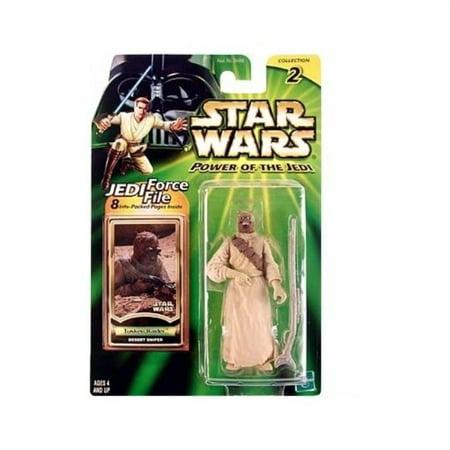 Star Wars Power of the Jedi Tusken Raider Action Figure Hasbro ()