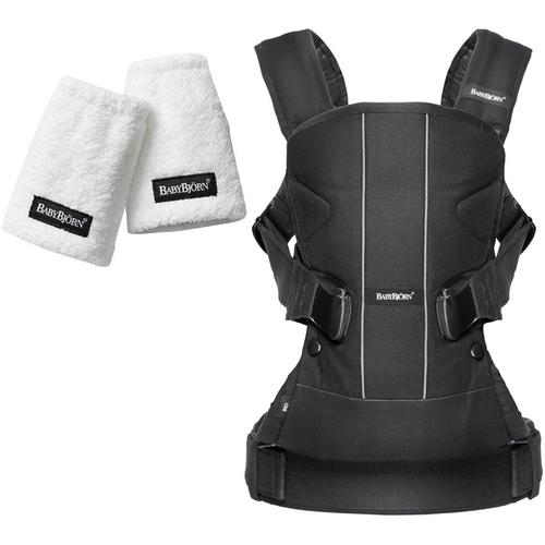 Baby Bjorn 093023USK Baby Carrier One With Teething Pads - Black