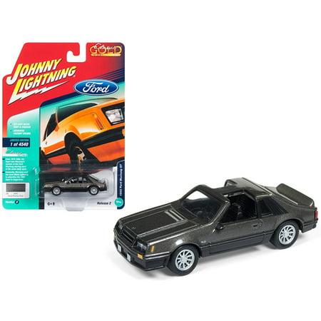 1982 Ford Mustang GT 5.0 Dark Gray Metallic