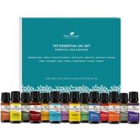 Plant Therapy Essential Oils 7 & 7 Set - 7 Single Oils & 7 Blends 10 mL (1/3 oz)