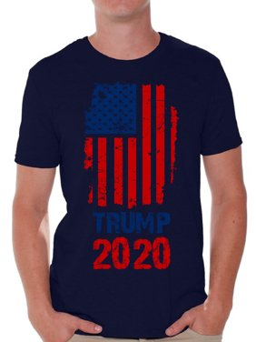 abea74e2f6b4 Product Image Awkward Styles Trump Flag 2020 Tshirt for Men Donald Trump T  Shirt Political Shirts Gifts for