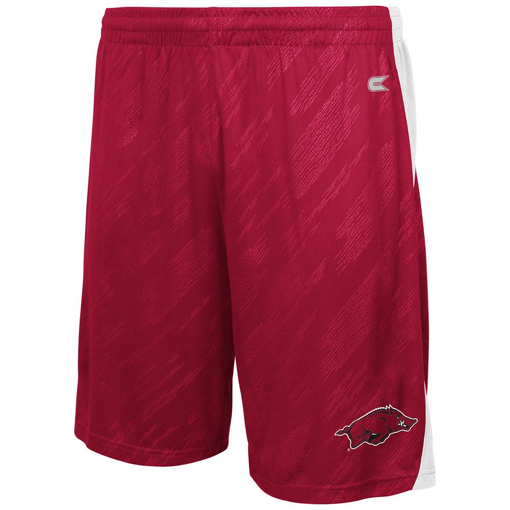 Mens NCAA Arkansas Razorbacks Basketball Shorts (Team Color) by Colosseum