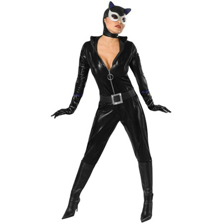 Women's Adult Catwoman Cat Woman PVC Dominatrix Costume - Walmart.com fe265f88afd5