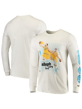 d6c50244b Product Image Stephen Curry Golden State Warriors Nike Time Warp Long  Sleeve T-Shirt - White