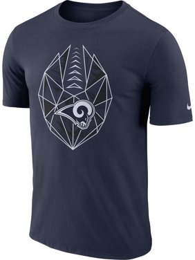 Product Image Nike Men s Los Angeles Rams Icon Performance Navy T-Shirt 82880732d