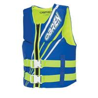 O'Brien USCG Approved Junior Life Jacket (Blue/Green or Pink/Aqua)