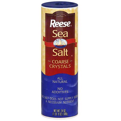 Reese Coarse Crystals Sea Salt, 24 oz (Pack of 12)