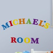 Wallhogs Primary Letters Wall Decal
