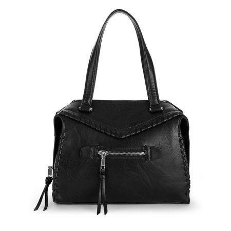 BCBGeneration Aubry Whipstitch Satchel (Lug Purses Handbags)
