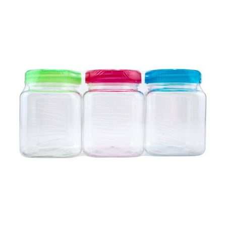 Everything Mary Clear Plastic Jars, 6 Oz., 3 Count](Blessings Jar)