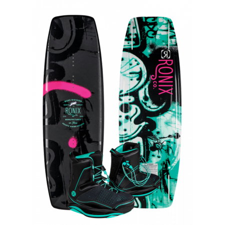 Ronix Quarter 'Til Midnight Wakeboard w/ Signature Bindings