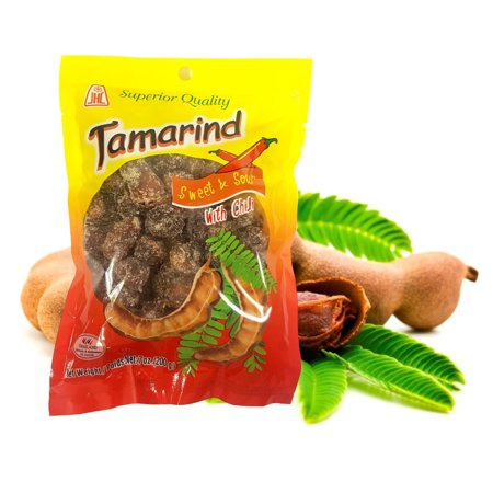 Thai Sweet & Sour Tamarind Candy with Chili  Whole Pod 7 Oz. (Pack of 2) ()