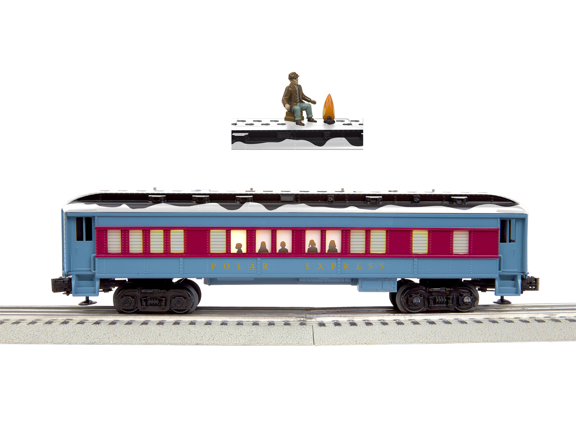Lionel Trains Polar Express Disappearing Hobo Car by Lionel, LLC
