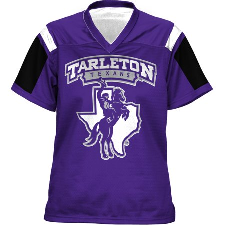 Ohio State University Football Helmet (ProSphere Women's Tarleton State University Thunderstorm Football Fan Jersey )