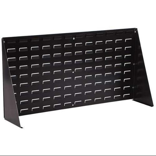 LEWISBINS LPA1836-CON Louvered Panel Bench Assembly, ESD, Black